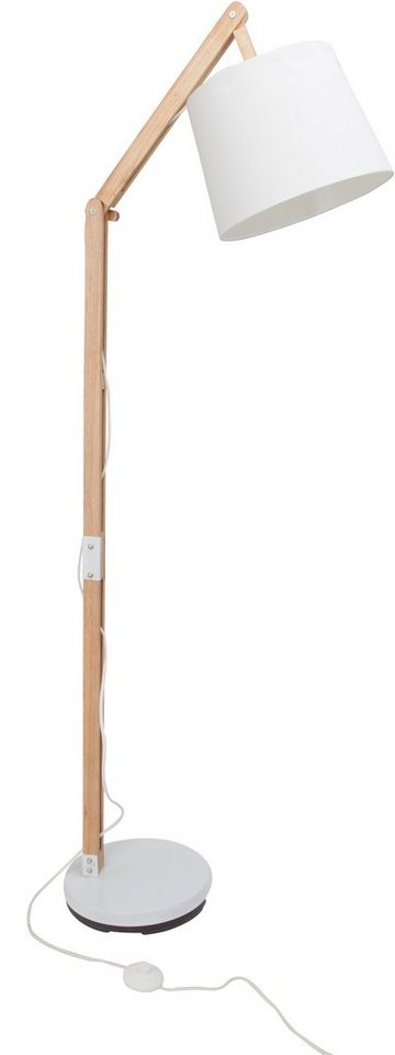 Stehlampe (1flg.) in braun