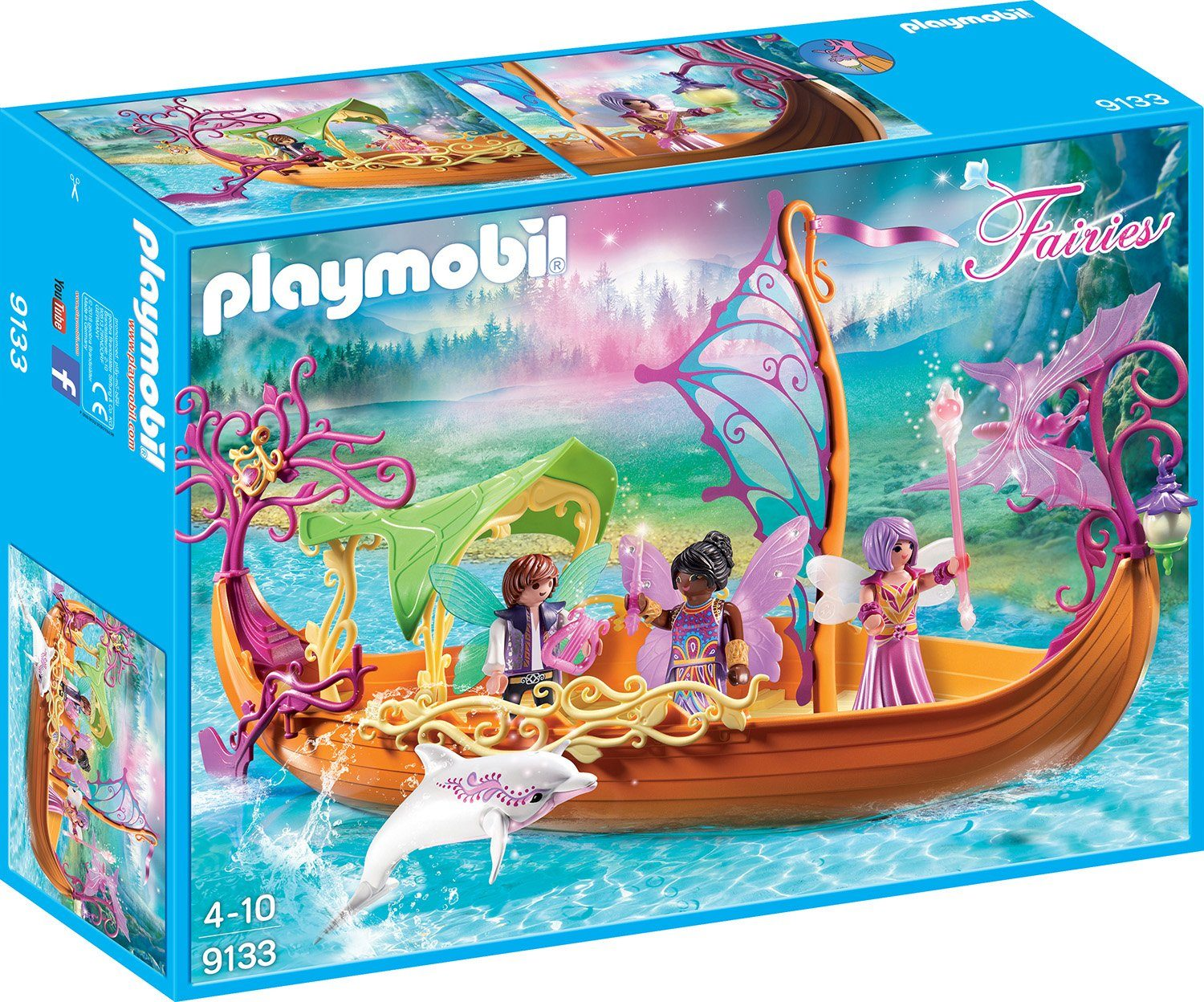 Playmobil® Romantisches Feenschiff (9133), »Fairies«