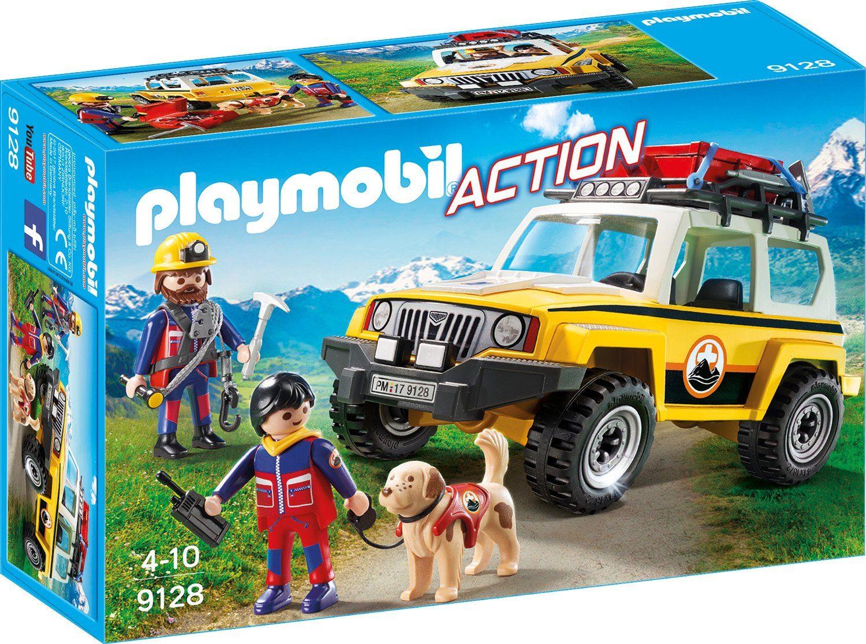 Playmobil® Bergretter-Einsatzfahrzeug (9128), »Action«