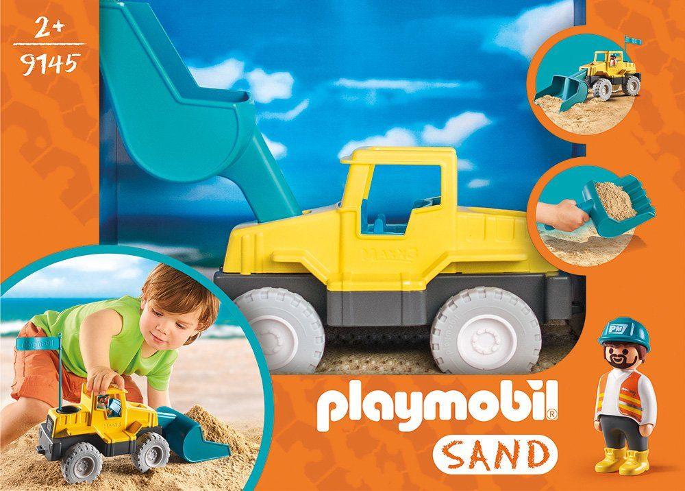 Playmobil® Konstruktionsspielsteine »Schaufelbagger (9145), Sand«