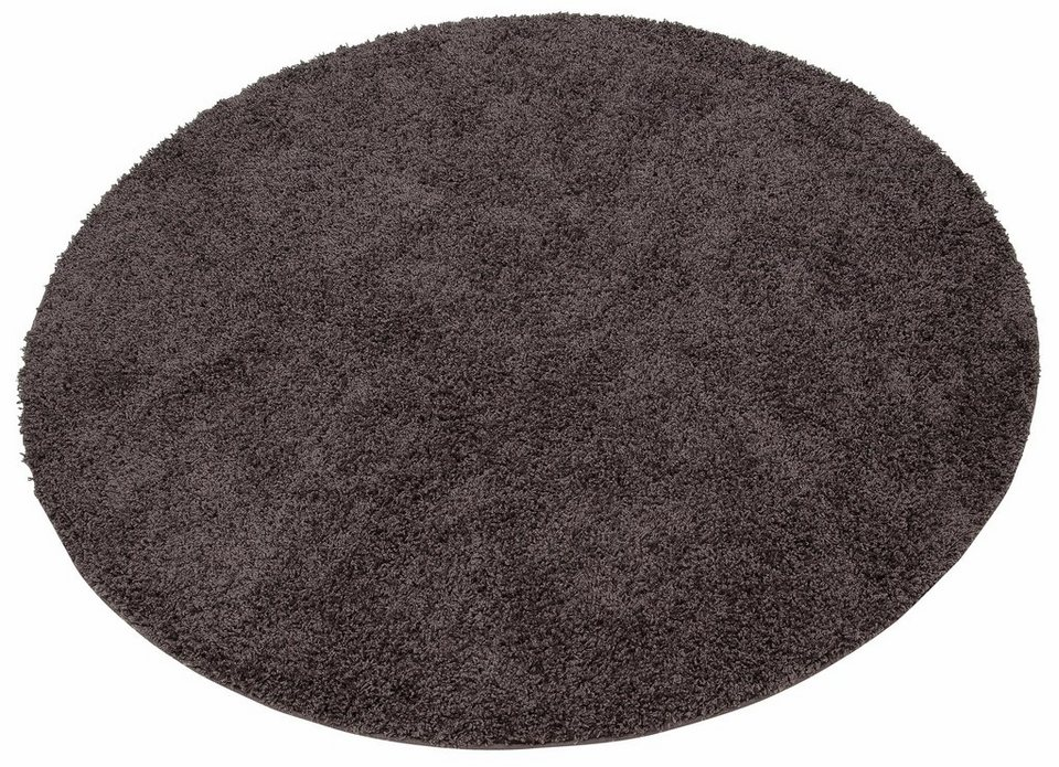 Hochflor Teppich Shaggy 30 Home Affaire Collection Rund Hhe