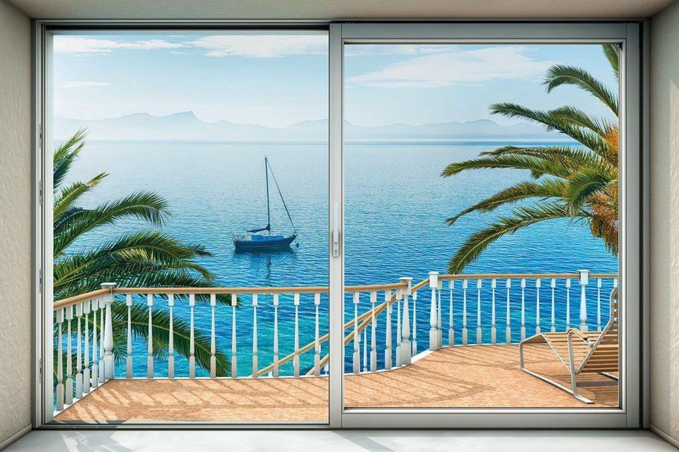 komar vlies fototapete tranquillo 368 248 cm komar online kaufen otto. Black Bedroom Furniture Sets. Home Design Ideas