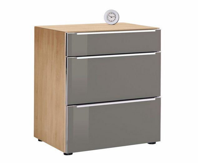 nolte® Möbel Nachtkommode »Alegro Style«, Glasfronten, Breite 60 cm