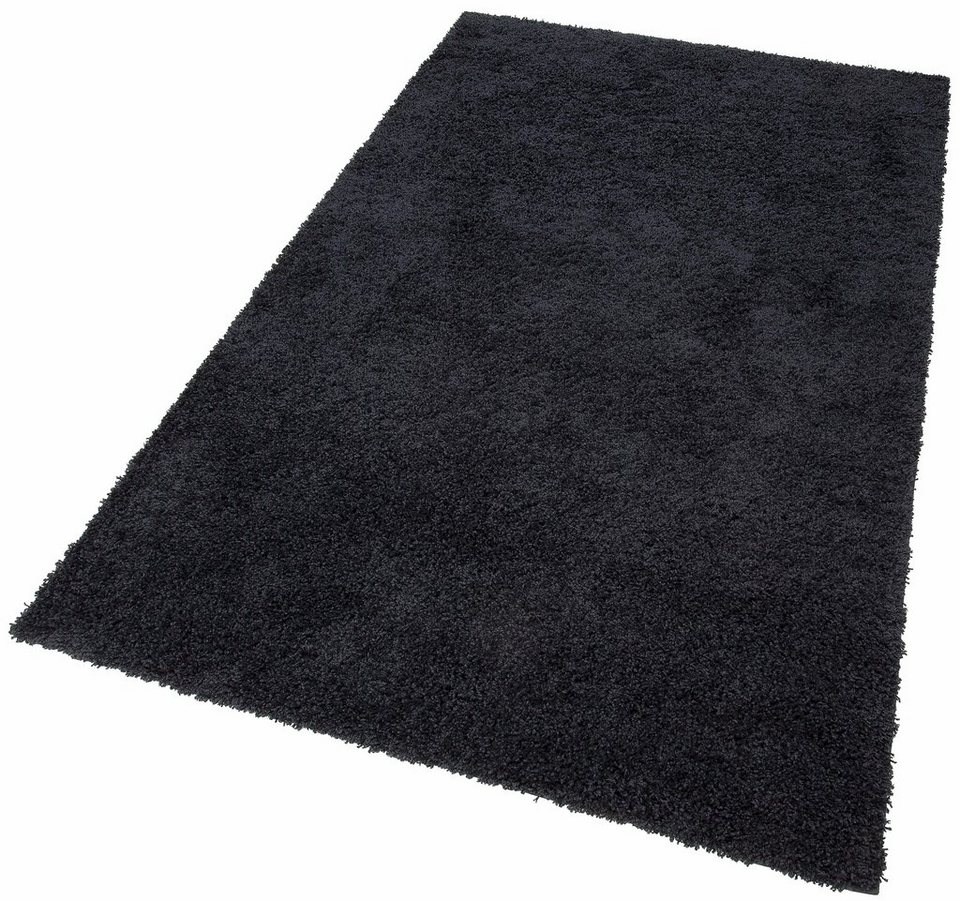 Teppich shaggy  Hochflor-Teppich »Shaggy 30«, Home affaire Collection, rechteckig ...