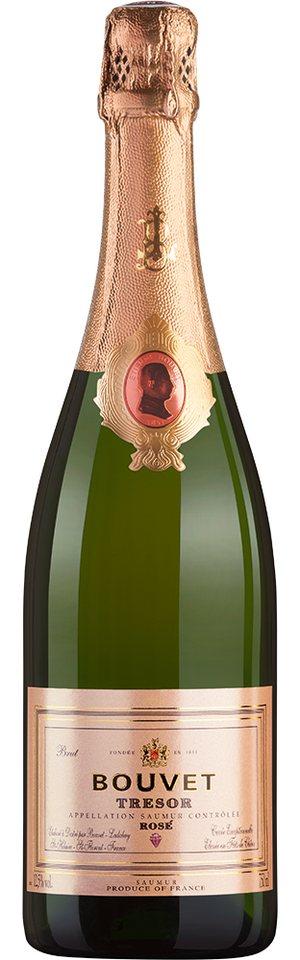 Schaumwein aus Frankreich, 12,5 Vol.-%, 75,00 cl »Trésor Rosé«