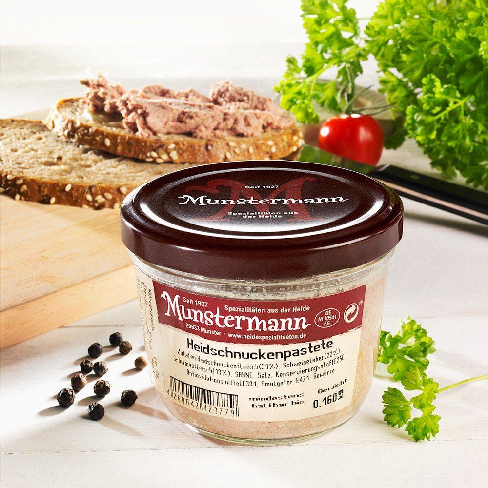 Munstermann Heidschnucken-Pastete