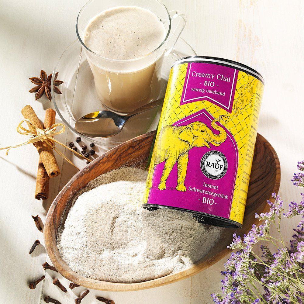 Rauf Tee Rauf Tee Creamy Chai Instant Bio