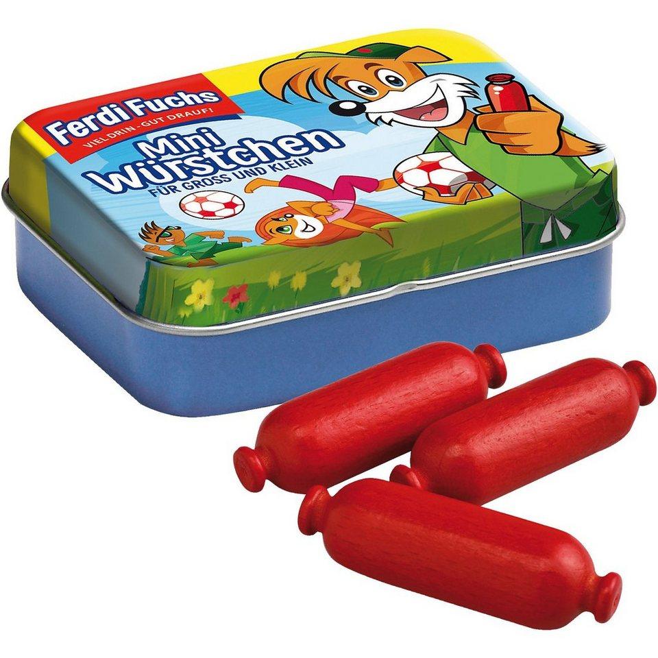 Erzi® Spiellebensmittel Ferdi Fuchs Miniwürstchen in der Dose Spie online kaufen