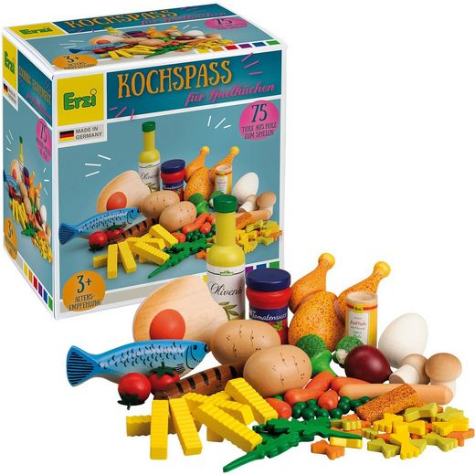Erzi® Spiellebensmittel Sortierung Kochspaß