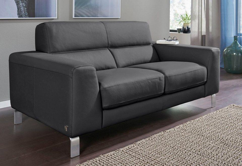 calia italia 2 5 sitzer ledersofa simon in zwei lederqualit ten online kaufen otto. Black Bedroom Furniture Sets. Home Design Ideas