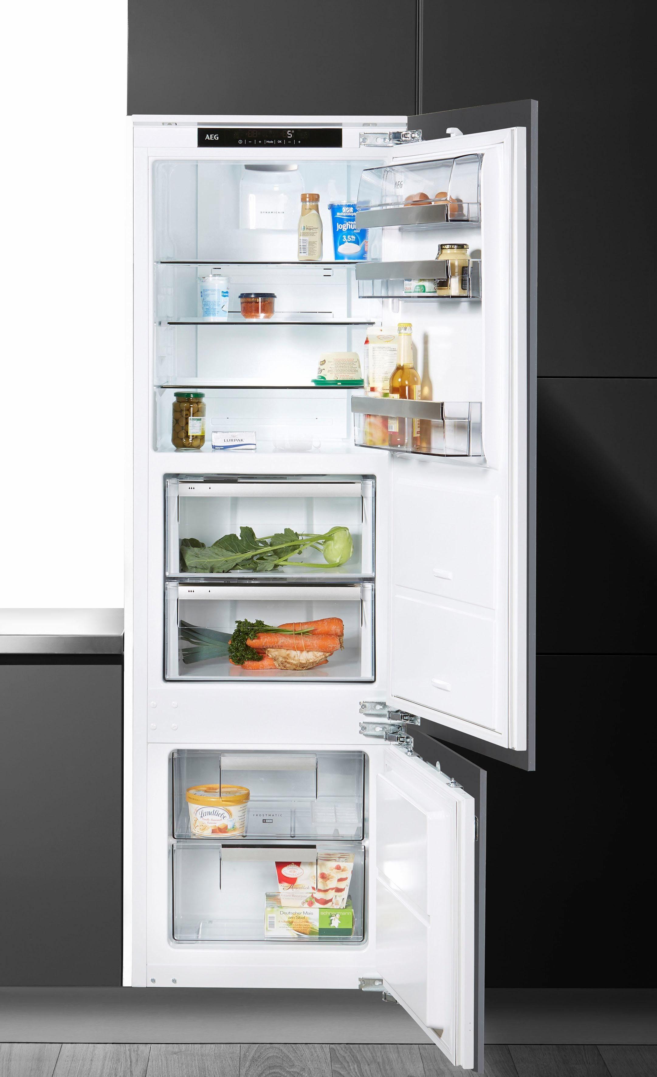 AEG Einbaukühlschrank SCE81826ZC, 178 cm hoch, 54,5 cm breit, Energieeffizienzklasse: A++, 178 cm hoch