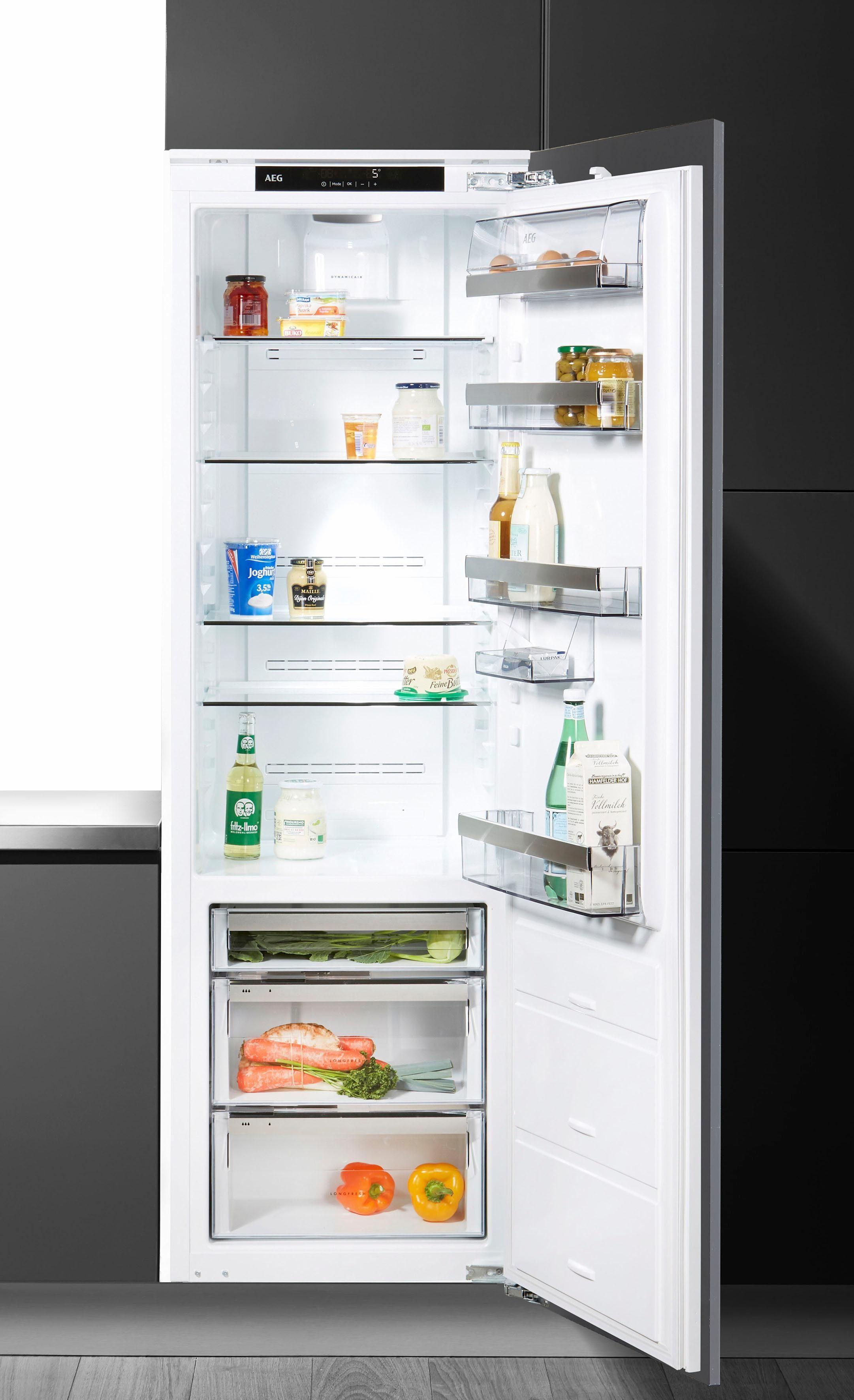 AEG integrierbarer Einbau-Kühlschrank SANTO SKE81826ZC, A++, 178 cm hoch