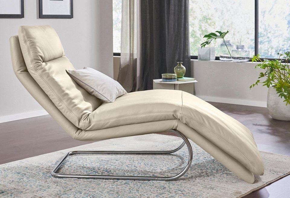 W.SCHILLIG Relaxliege »jill« mit Wippfunktion, inklusive Rücken ...