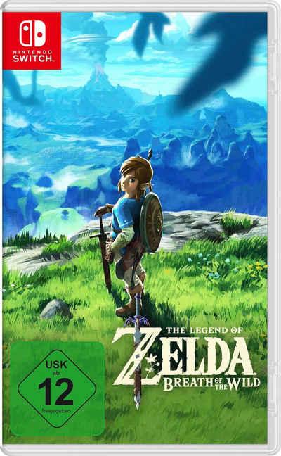 The Legend of Zelda: Breath the Wild Nintendo Switch Sale Angebote Felixsee