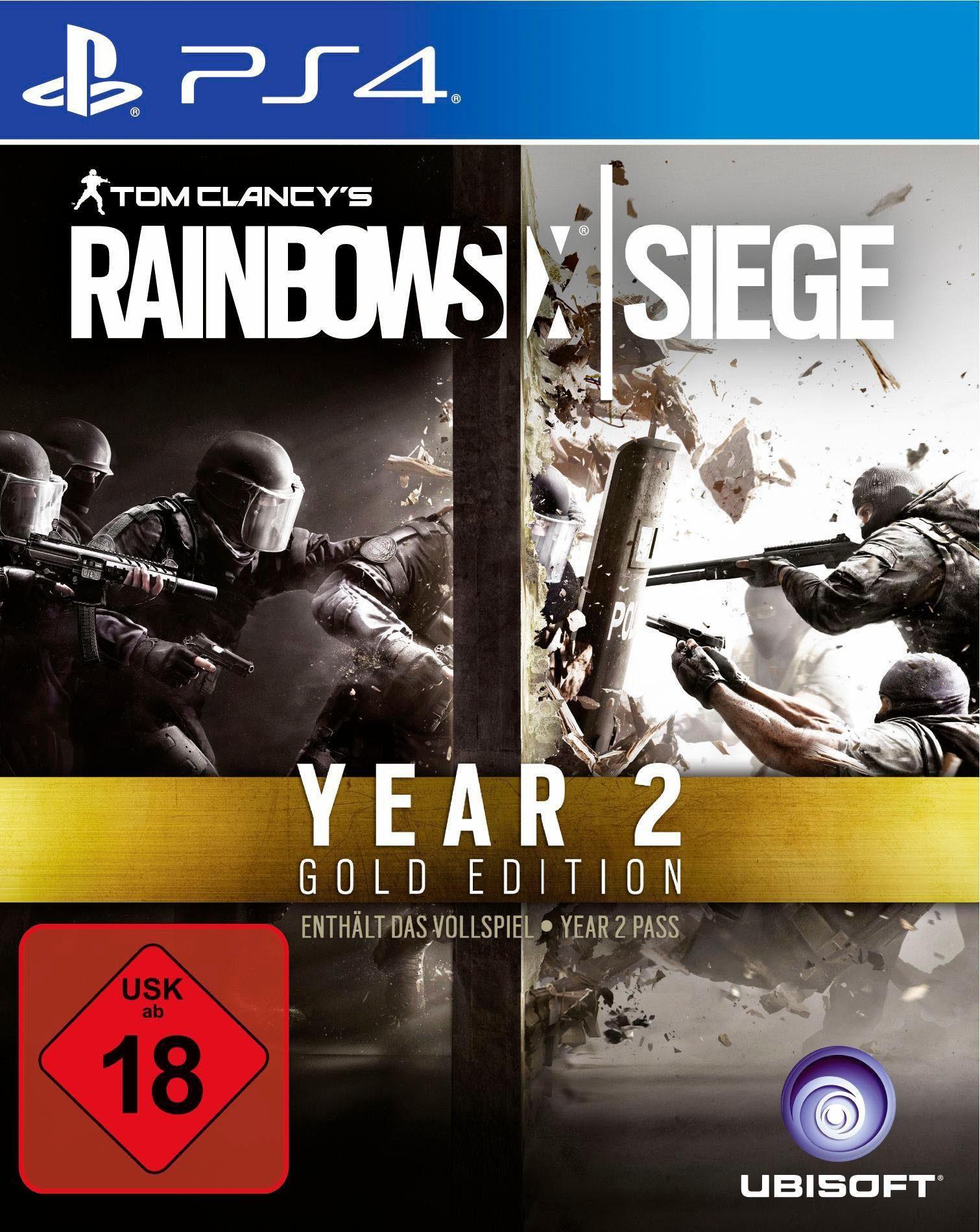 Tom Clancy`s Rainbow Six Siege Year 2 Gold Edition PlayStation 4