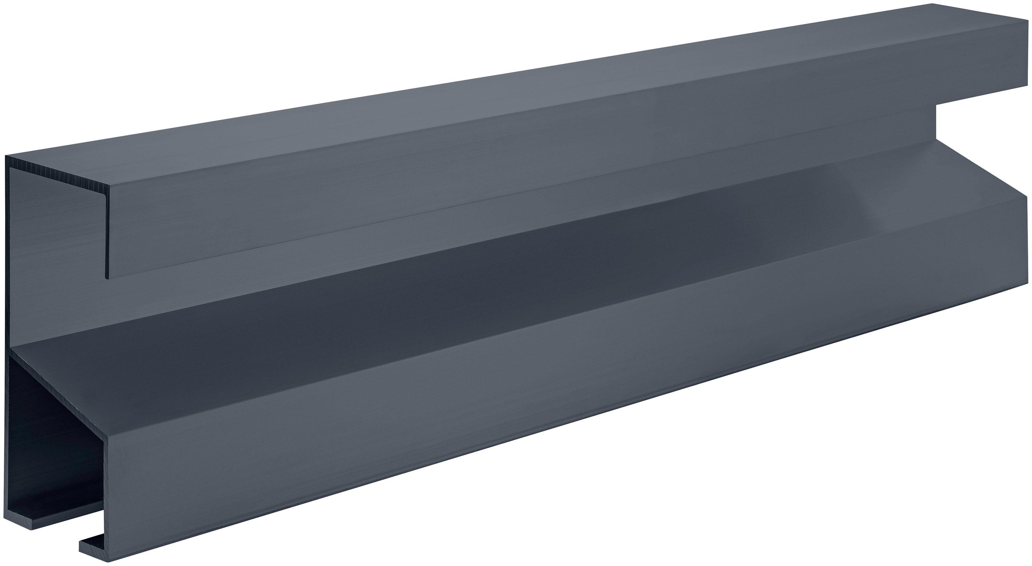 Fundamentrahmen , BxL: 200x134 cm, für Gewächshaus »Allgäu U3AE« silberfarben
