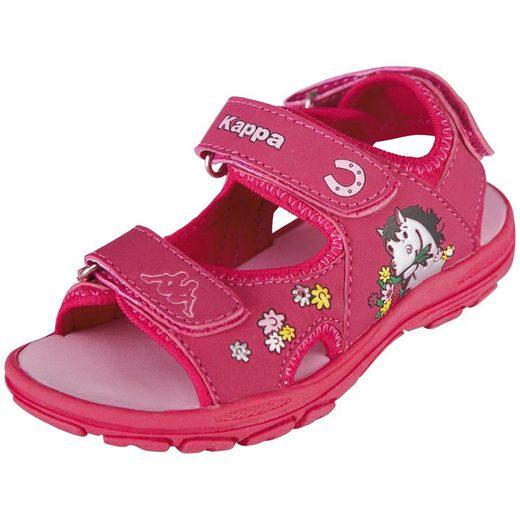 Kappa »WHINNY SUN KIDS« Sandale mit cooler Blinkfunktion