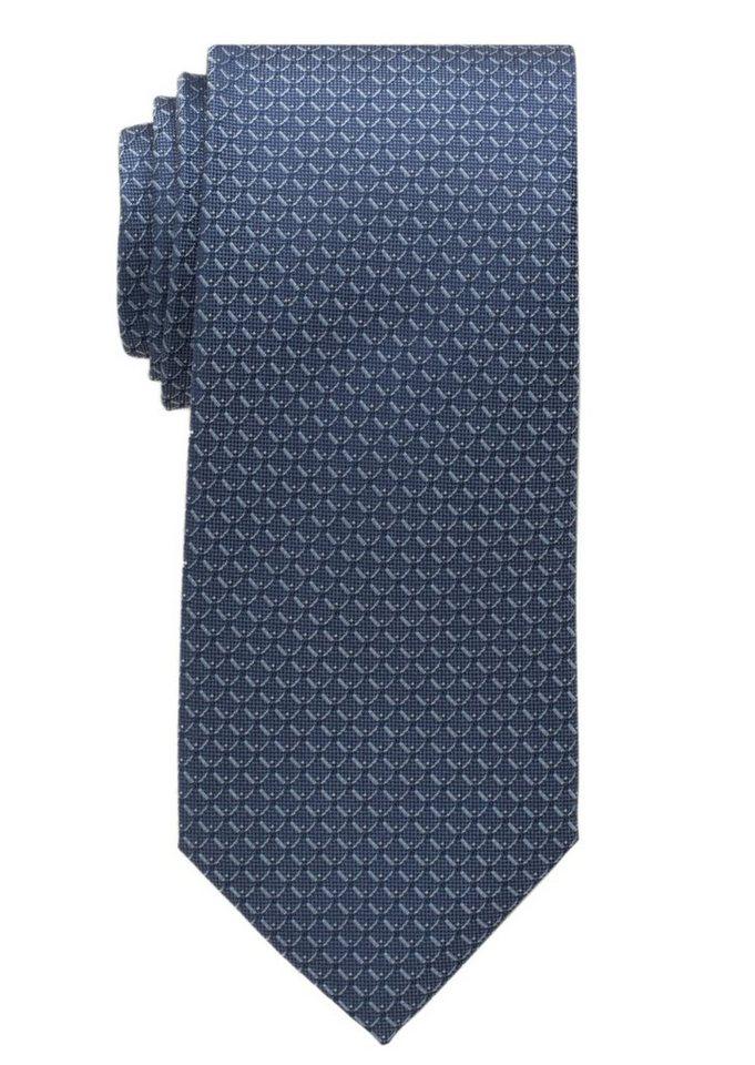 ETERNA Krawatte »breit« in marine