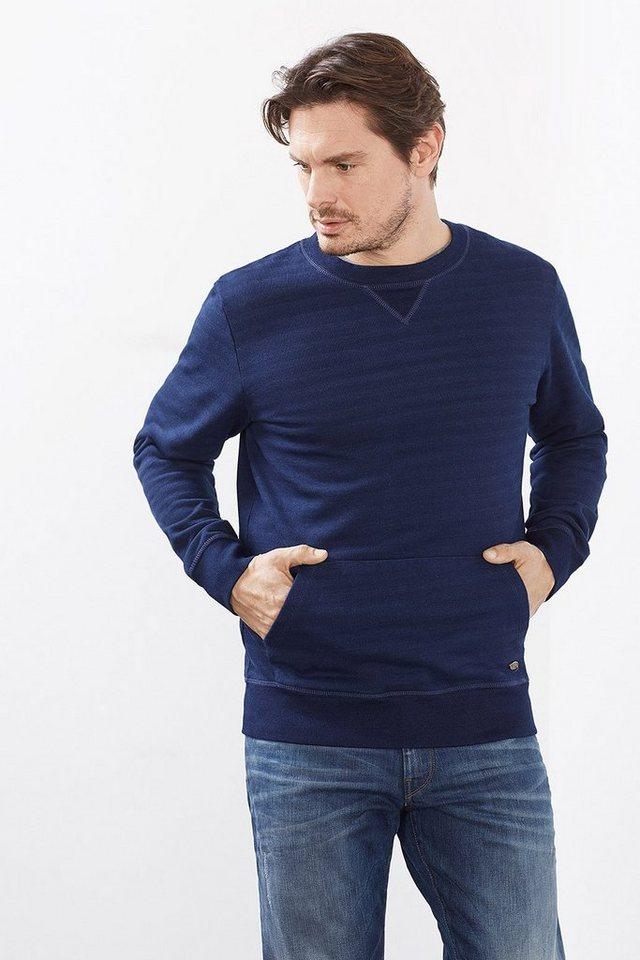 ESPRIT CASUAL Sweatshirt aus Baumwolle in INK