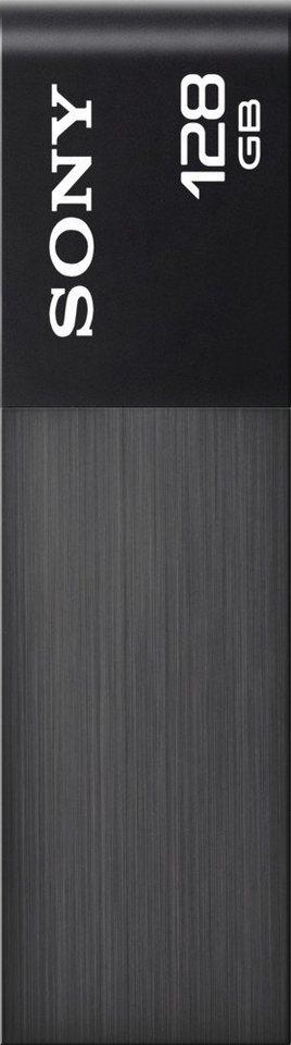 sony ultraleichter usb stick im metallgeh use 128 gb usb. Black Bedroom Furniture Sets. Home Design Ideas