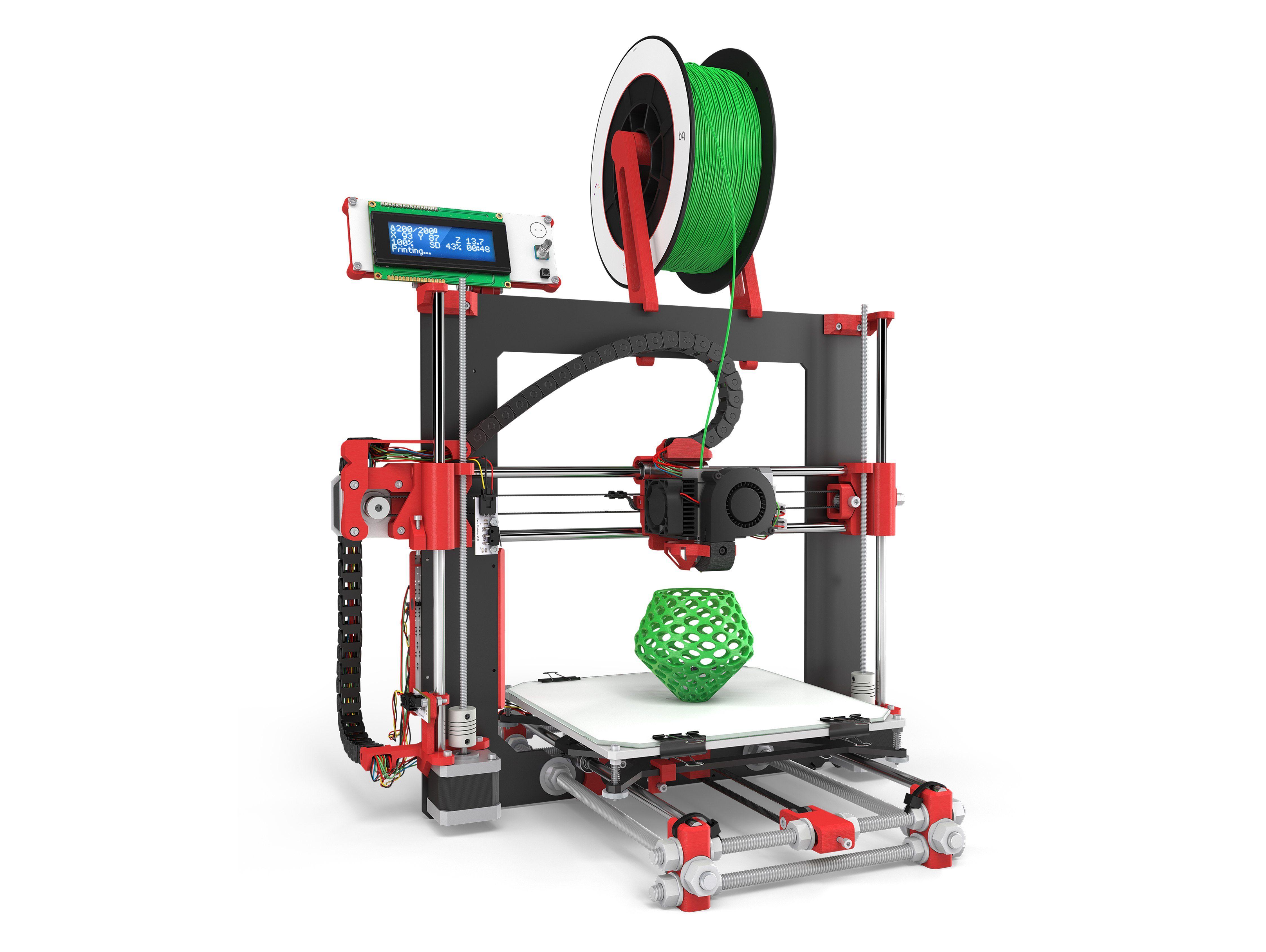 bq 3D Drucker - komplettes Set »Hephestos«