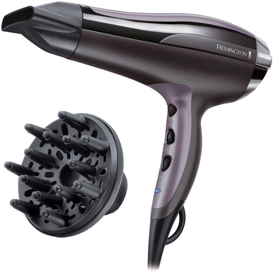 Remington, Haartrockner, D5220, 2400 Watt in anthrazit/violett