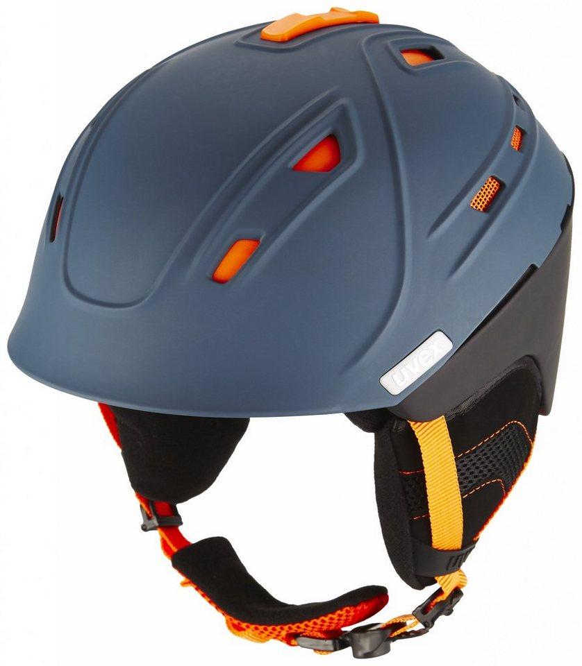 Uvex Ski - / Snowboardhelm »p2us Helmet« in grau
