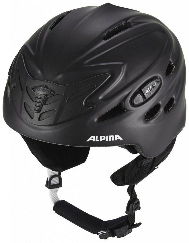 Alpina Ski - / Snowboardhelm »Scara Helmet« in schwarz