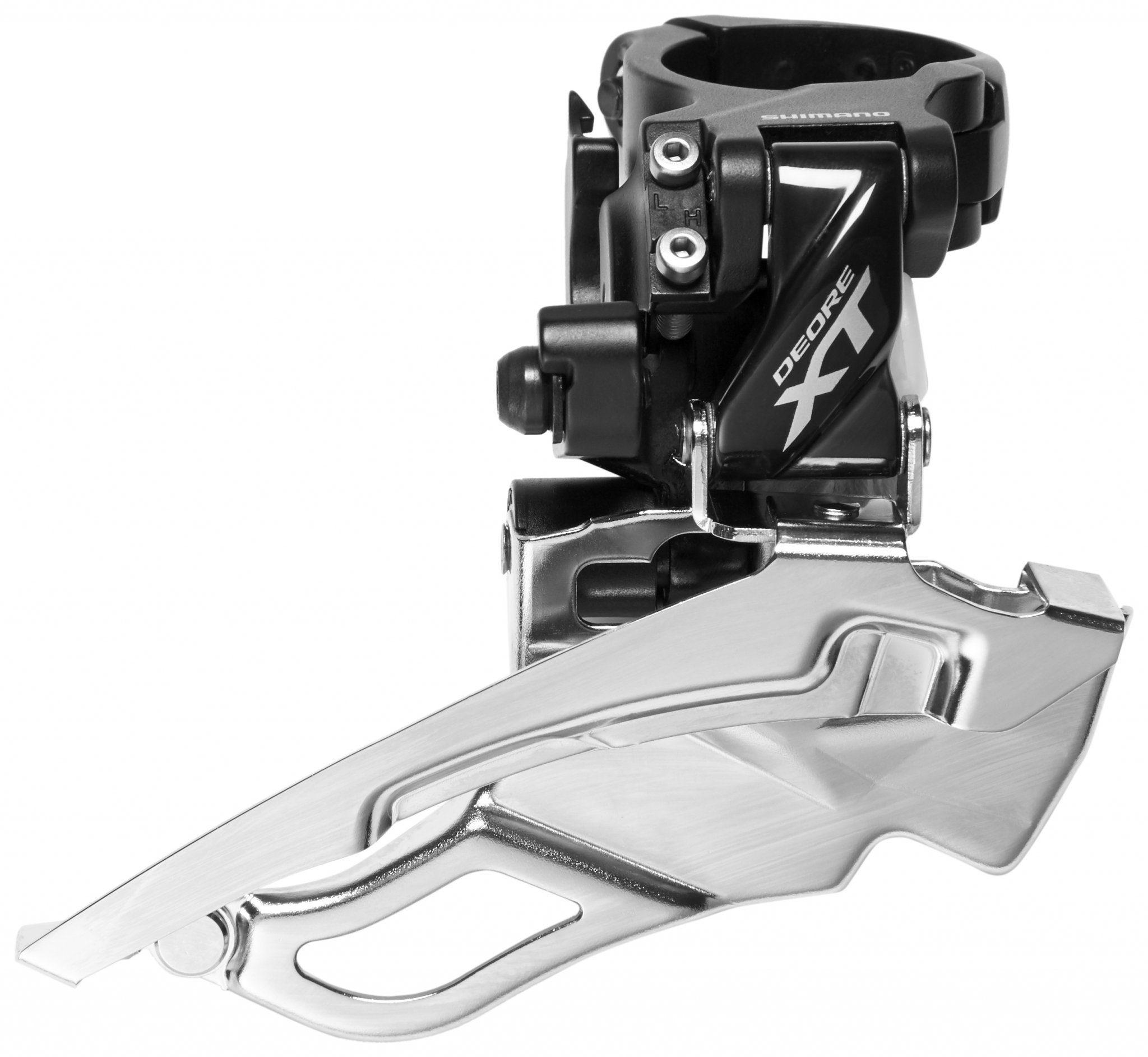 Shimano Schaltung »Deore XT Trekking FD-T8000 Umwerfer Schelle hoch«