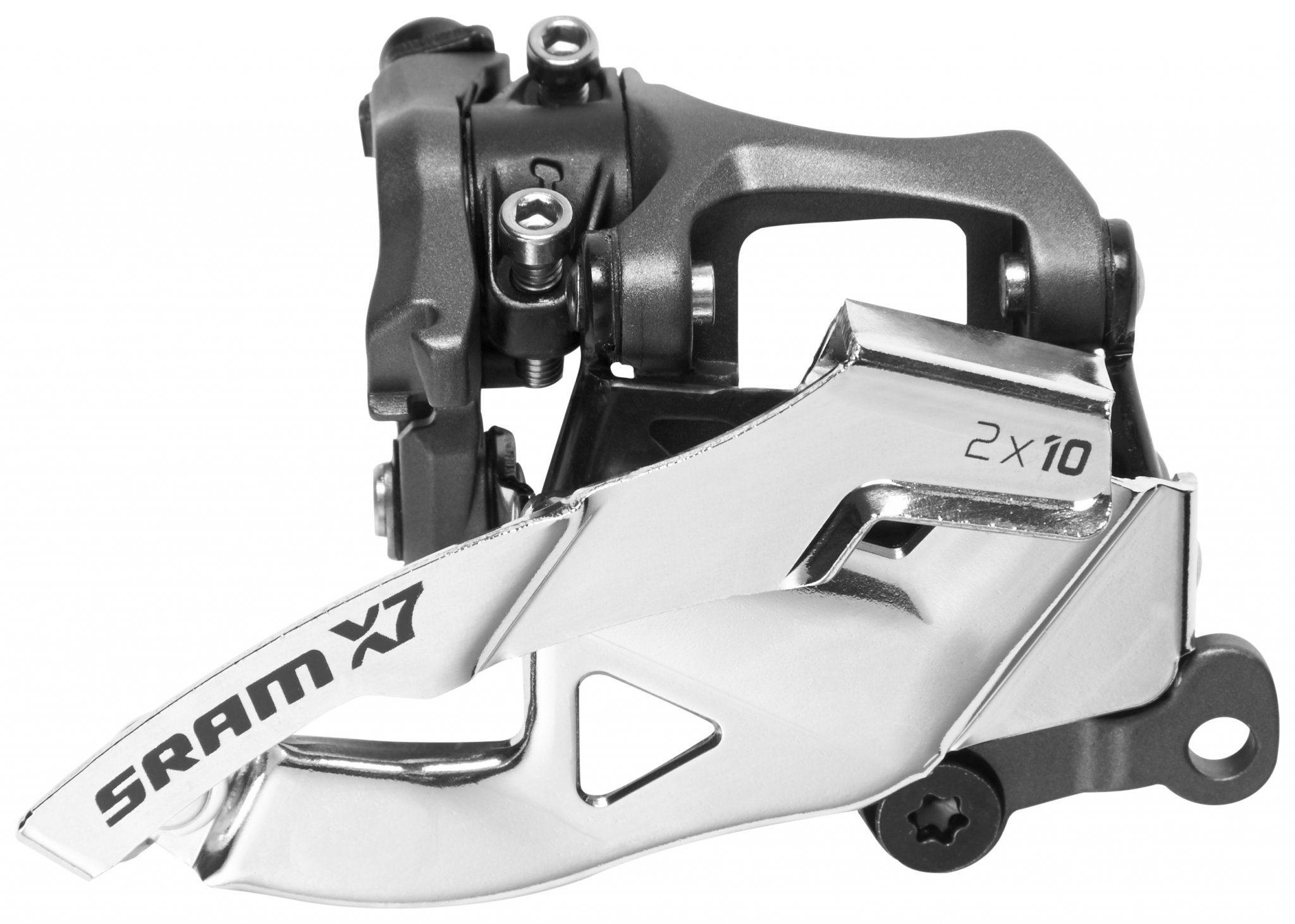 SRAM Schaltung »X7 Umwerfer 2x10-fach Low Direct Mount Dual Pull«