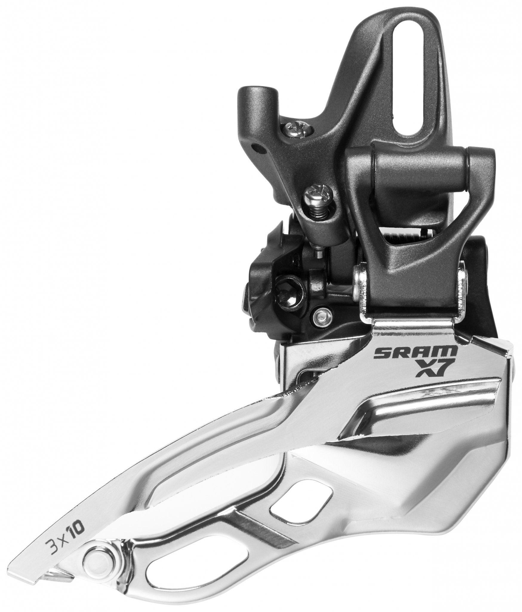 SRAM Schaltung »X7 Umwerfer 3x10-fach High Direct Mount Top Pull«