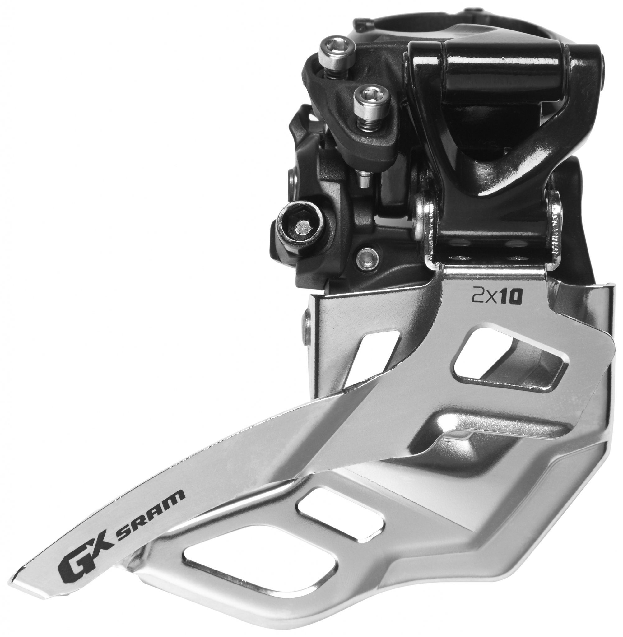 SRAM Schaltung »GX Umwerfer 2x10-fach High Clamp Bottom Pull 38/36«