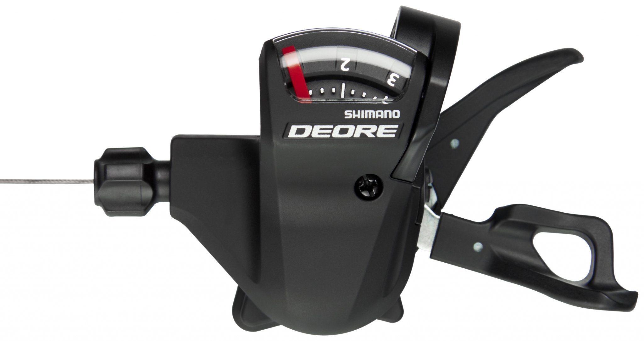 Shimano Schaltung »Deore SL-T610 Schalthebel 3-fach links schwarz«