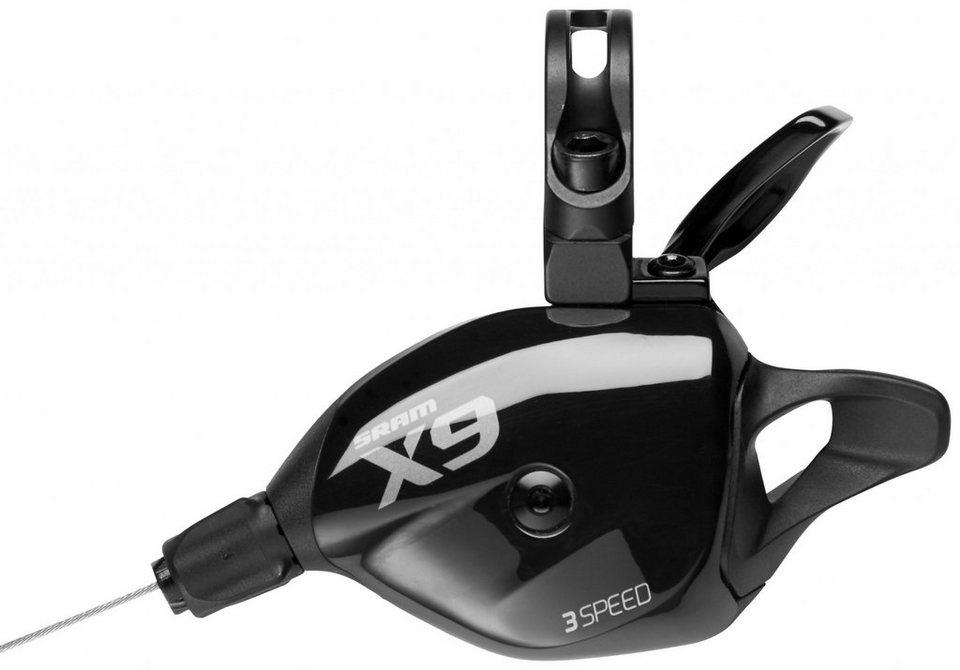 SRAM Schaltung »X9 Trigger 3-fach vorne/links«