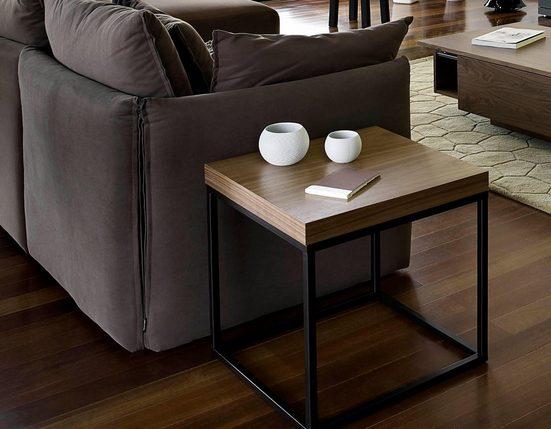 TemaHome Couchtisch »Raire«, in zwei unterschiedlichen Tischbreiten erhältlich, und zwei verschiedenen Beinfarben