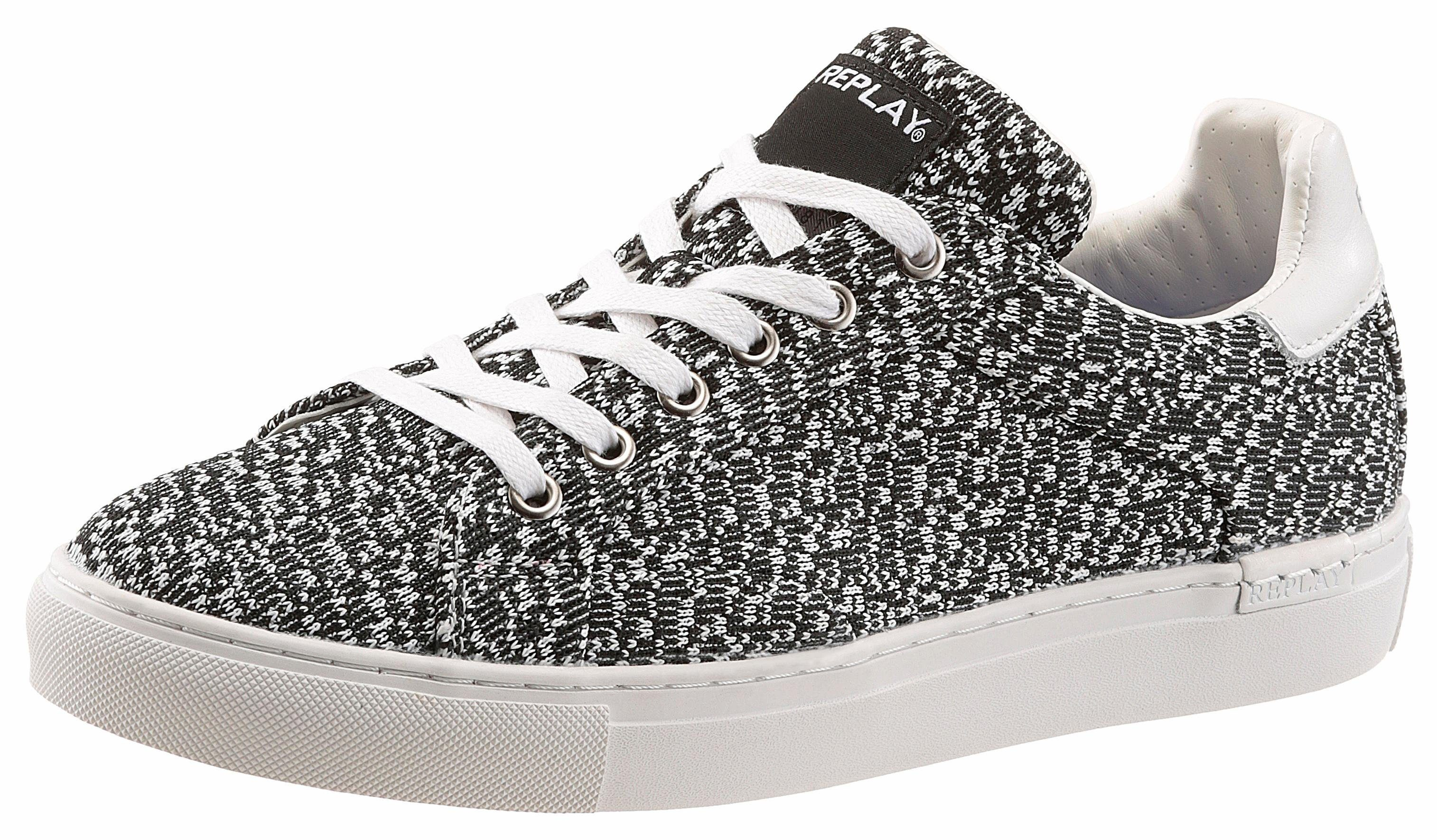 Wrangler »Mitos Derby« Sneaker, mit Logoprägung, schwarz, 46 46
