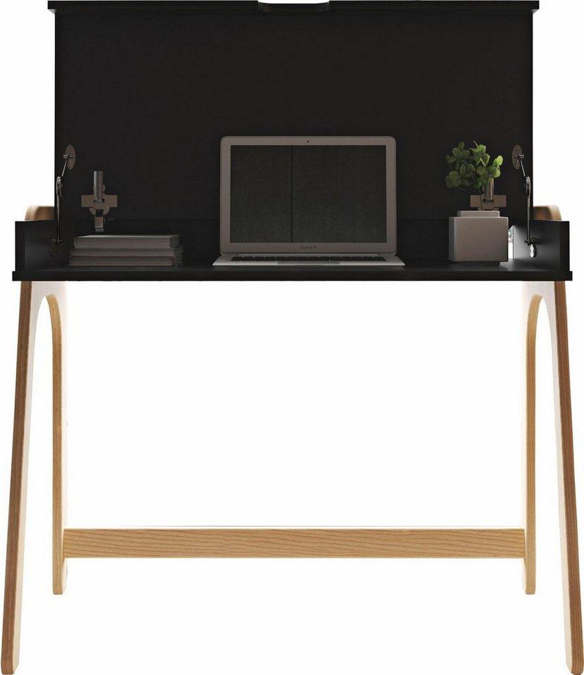 Andas Schreibtisch Platzsparend Online Kaufen Otto