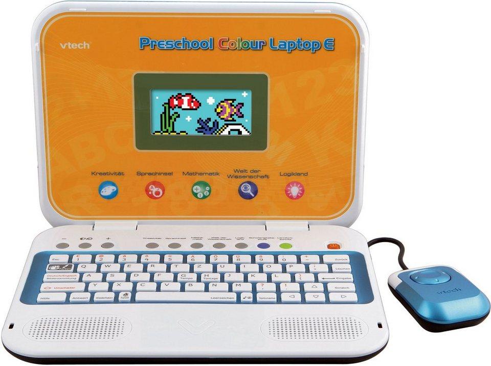 VTech Kinderlaptop mit Farbdisplay, »Ready Set School - Preschool Colour Laptop E«