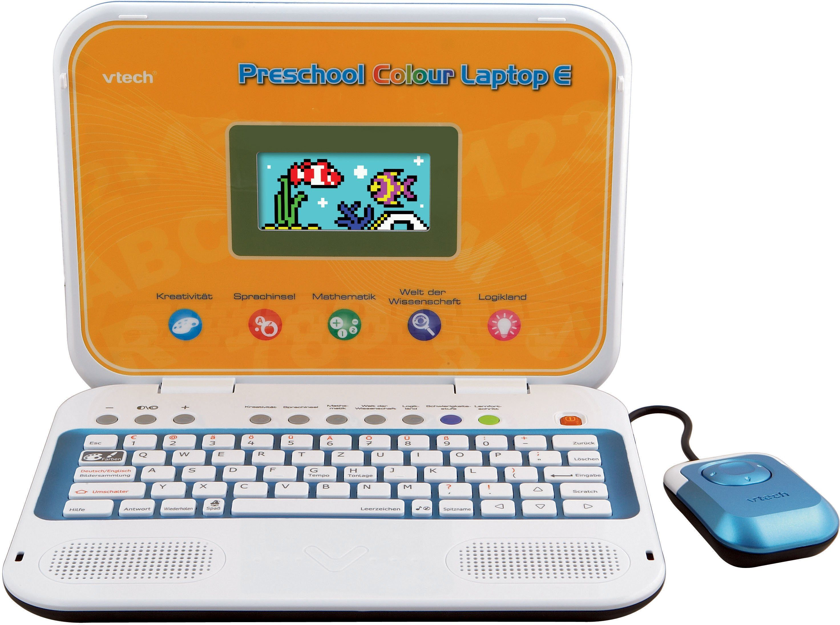 VTech Kinderlaptop mit Farbdisplay, »Ready Set School - Preschool Colour Laptop E«