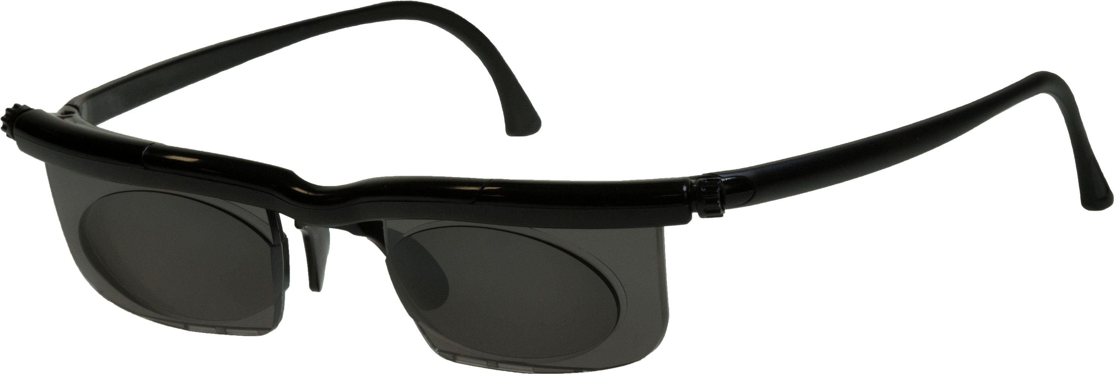 Maximex Sonnenbrille, individuell einstellbar, »Adlens®«, grün