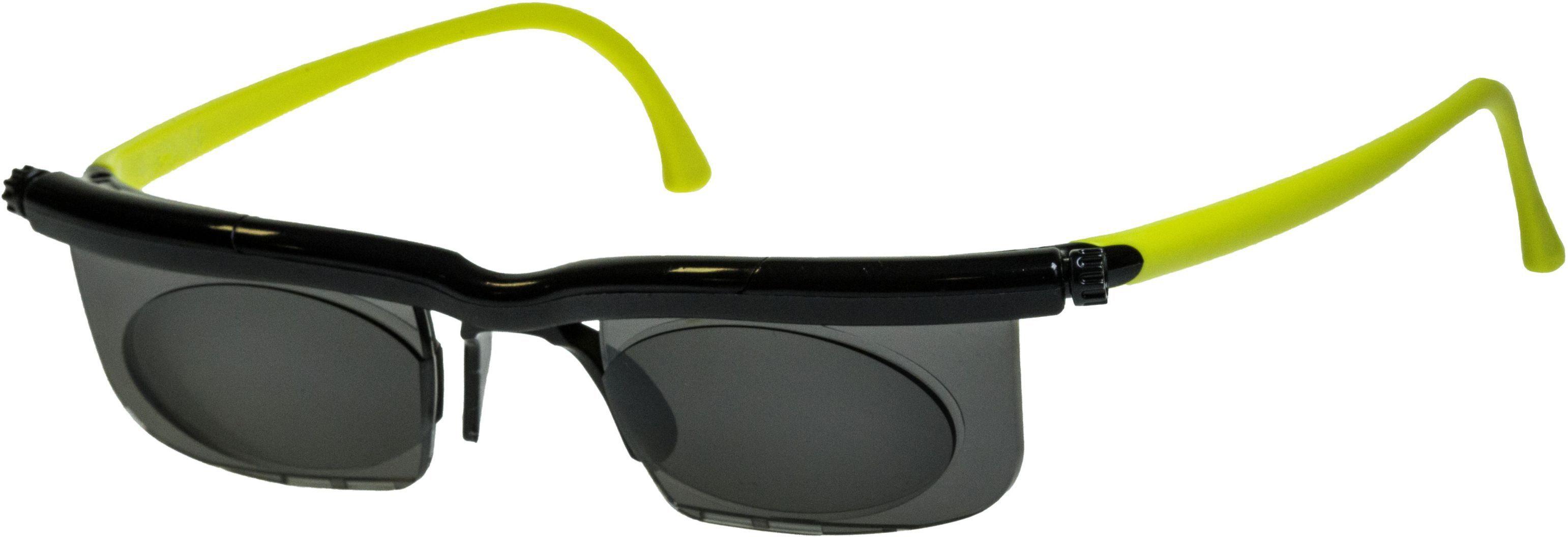 Maximex Sonnenbrille, individuell einstellbar, »Adlens®«, blau