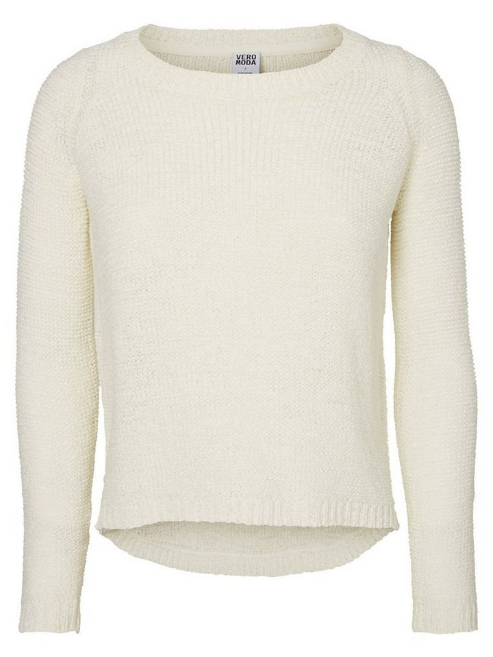Vero Moda Pullover in SNOW WHITE 2