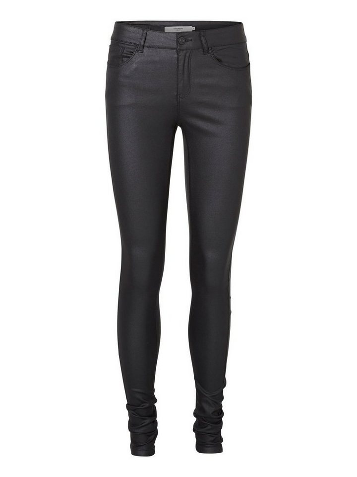 Vero Moda Seven NW Smooth Coated Hose in Black