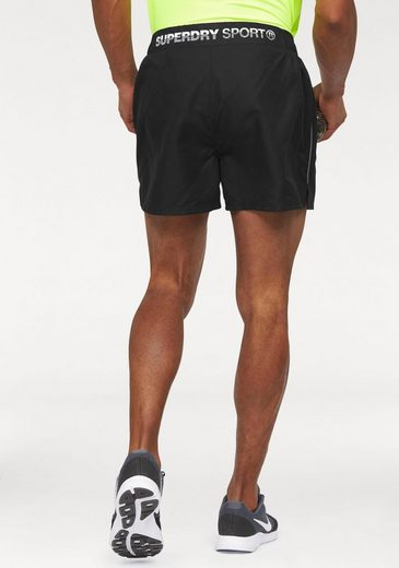 Superdry Shorts SPORTS ACTIVE TRAINING SHORT