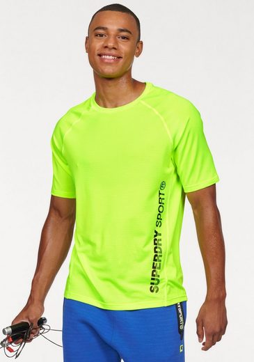Superdry Rundhalsshirt SPORTS ACTIVE RELAXED TEE