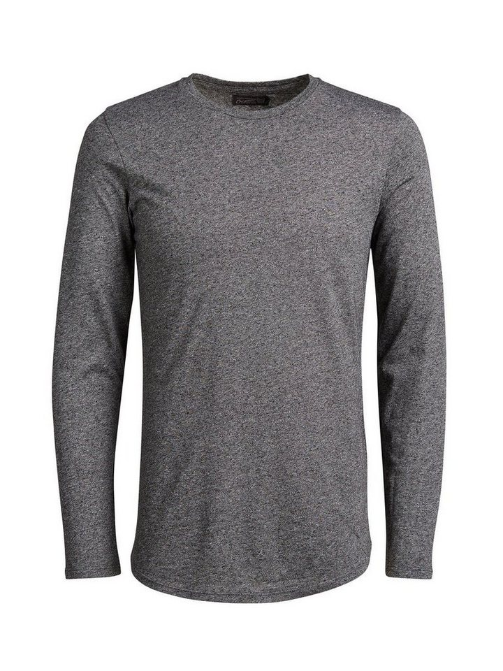 Jack & Jones T-Shirt mit langen Ärmeln in BLACK 2