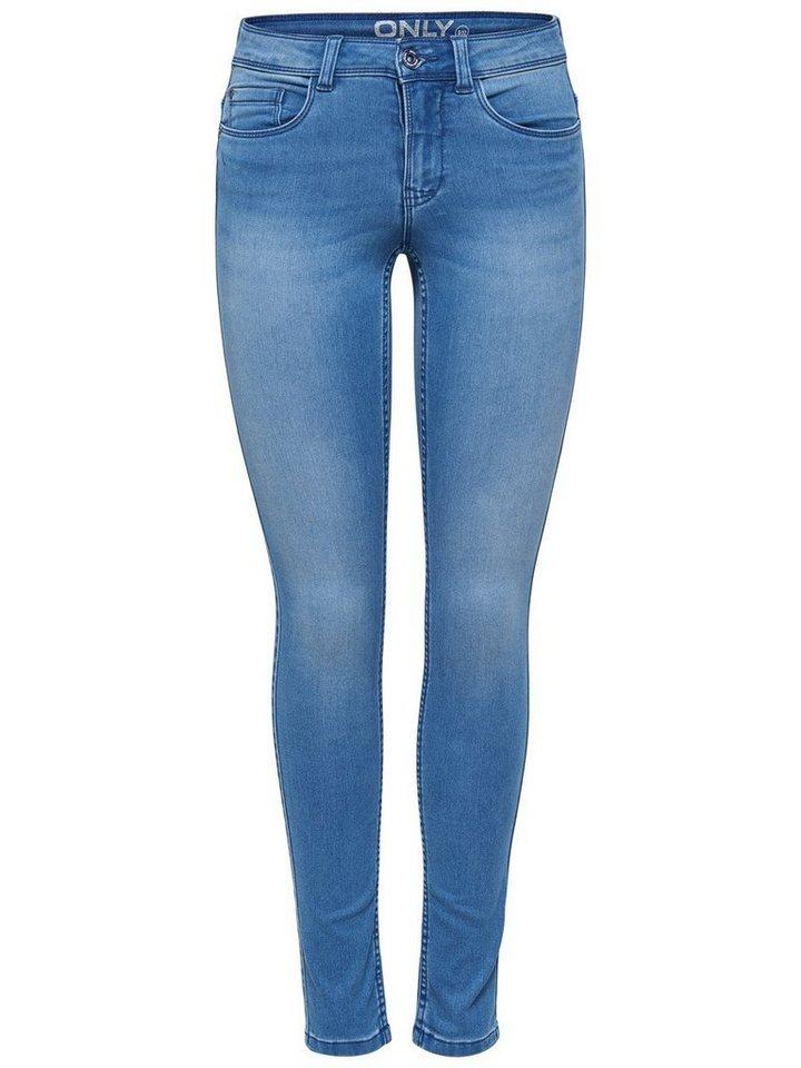 Only Ultimate soft reg Skinny Fit Jeans in Medium Blue Denim