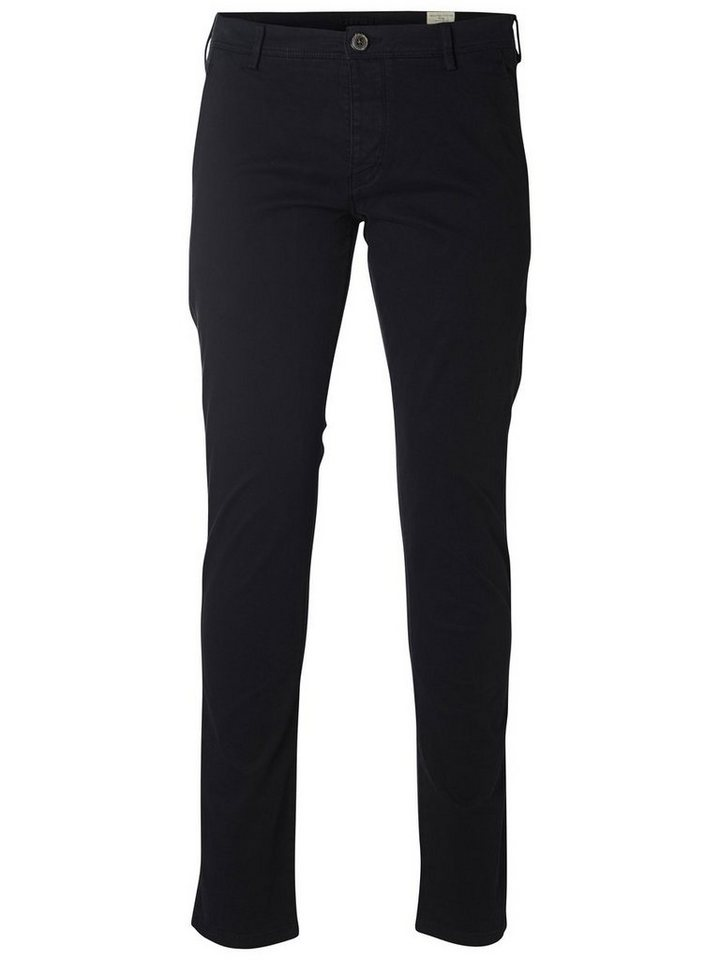 SELECTED Skinny-Fit- Chino in Black