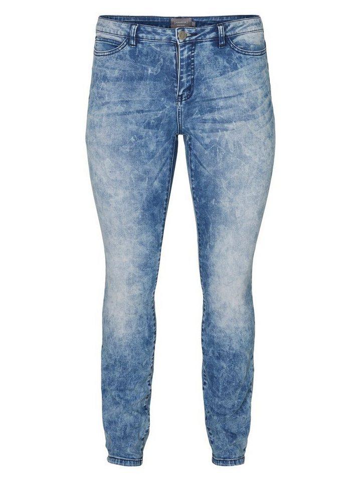 JUNAROSE JRFIVE Slim Fit Jeans in Medium Blue Denim