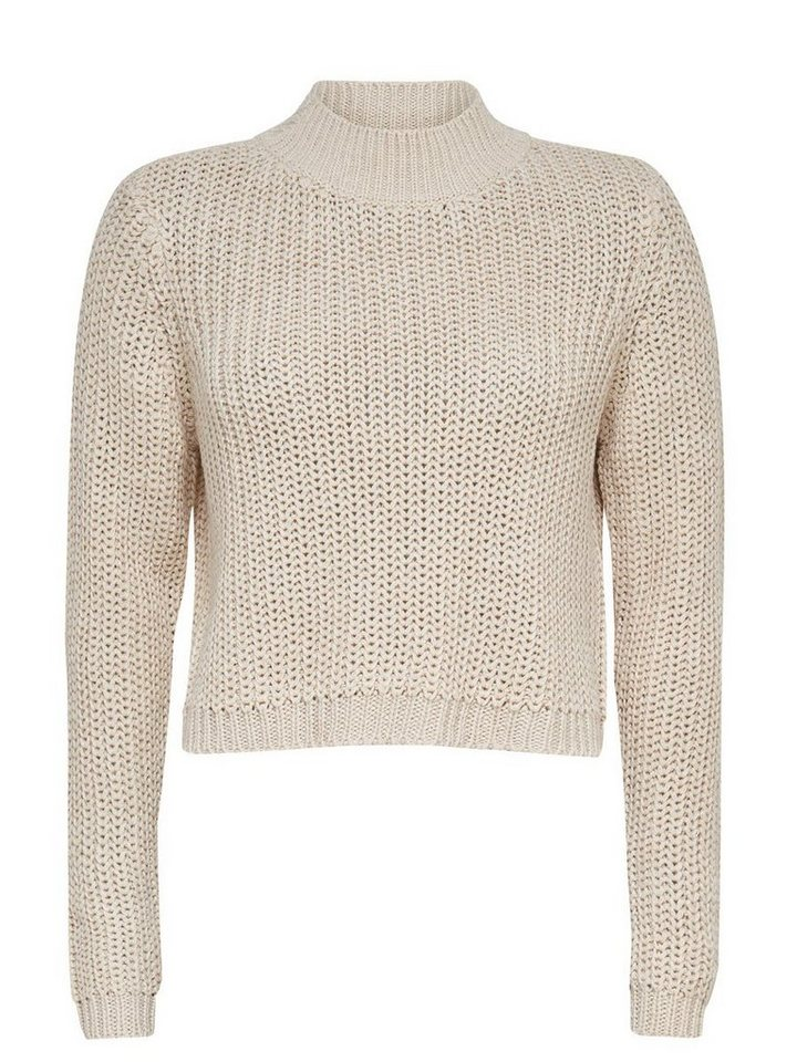 Only Strickpullover in Pumice Stone